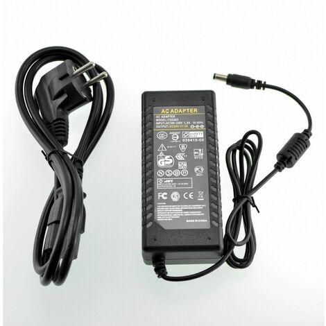 Fuente alimentacion 24V 3A conector 5,5mm para tiras de leds , y monitores lcd,led de diversas marca