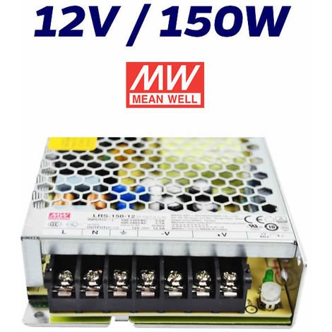 """main image of """"FUENTE ALIMENTACIÓN LED 12V MEAN WELL 150W"""""""