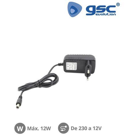 Fuente alimentación para tiras de LED 220V a 12V 12W