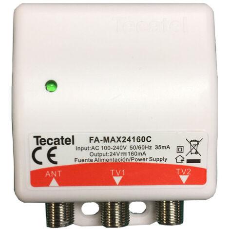 Fuente Alimentacion TECATEL 24V 160mA para amplificadores tdt de mástil