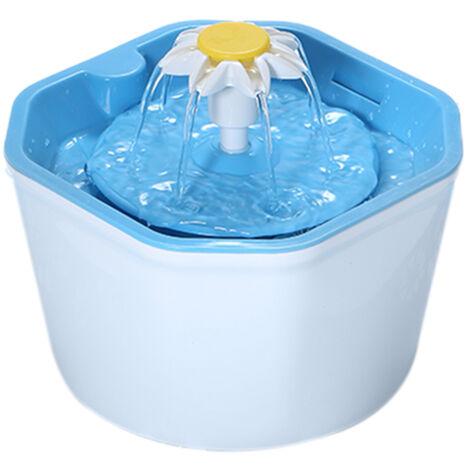 Fuente automatica de agua para gatos, dispensador de tazon de bebedero para mascotas(no se puede enviar a Baleares)