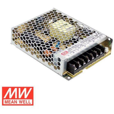 Fuente de alimentación 24V/108W/4,5A Mean Well LRS-100-24