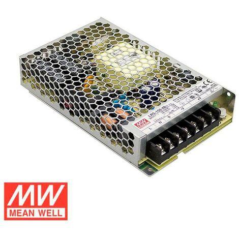 Fuente de alimentación 24V/150W/6,5A Mean Well LRS-150-24