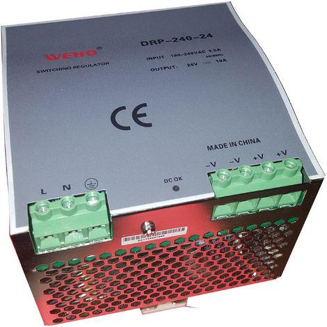 Fuente de alimentación 24Vcc 10A 240W carril DIN