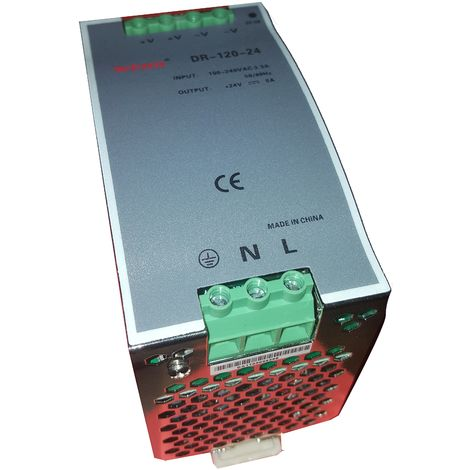 Fuente de alimentación 24Vcc 5A 120W carril DIN