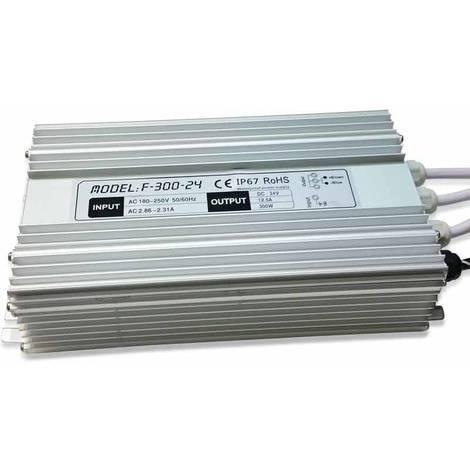 Fuente de alimentación estanca 24V 300W IP67
