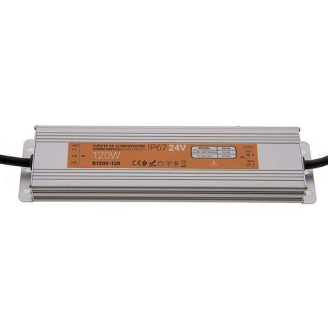 Fuente de alimentación estanca compacta 24V 120W IP67