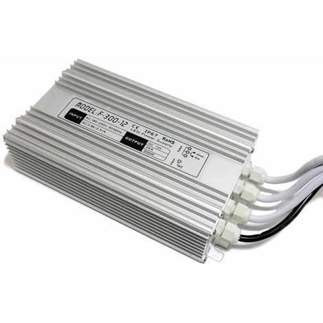 Fuente de alimentación IP67 12V 300W