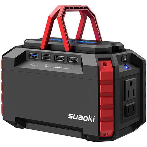 Fuente de alimentación Suaoki S270 150WH-EU Grupos electrógenosFuente de alimentación de emergencia