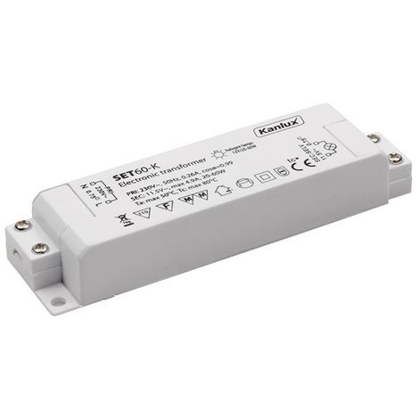 Fuente de alimentación Transformer electronic 20-60W