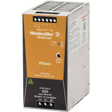 Fuente de alimentación Weidmuller de conmutación PRO ECO 240W 24V 1469490000