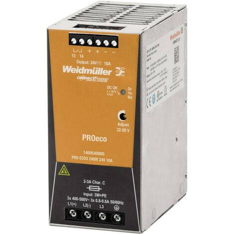 Fuente de alimentación Weidmuller de conmutación PRO ECO 240W 24V 1469540000