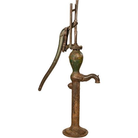 Fuente de Fontanella en hierro fundido y hierro para pozo antiguo/antiguo al aire libre