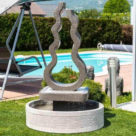 Fuente de jardín llama 160 cm