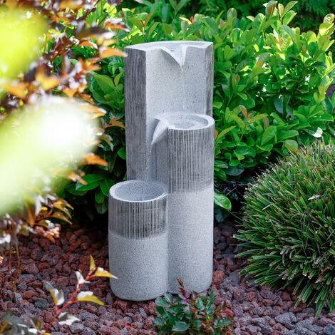 Fuente ornamental en cascada, de jardín y para interiores decorativa de 230V 101454