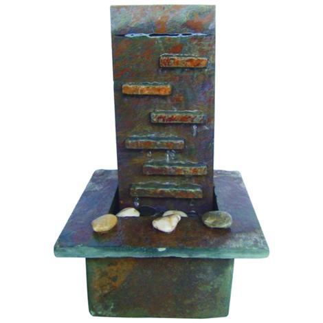 Fuente sobremesa piedra natural Monolyt - Jardin y Natura