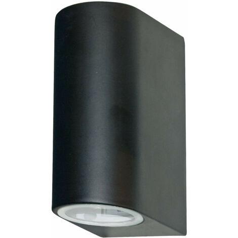 fuera de LED de luz, de la pared del difusor alto-bajo soporte transparente gris