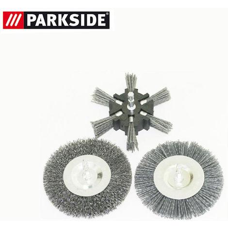 passend für Parkside Universalbürste PUB 500 A1-308713 Kunststoff Fugenbürste