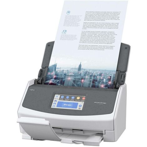 Fujitsu ScanSnap iX1500 Scanner Recto-verso A4 600 x 600 dpi 30 pages / minute, 60 images / minute USB, WiFi 802.11 b/g/n
