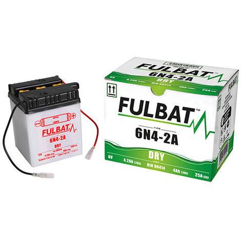 Fulbat - Batería moto 6N4-2A 6V 4Ah