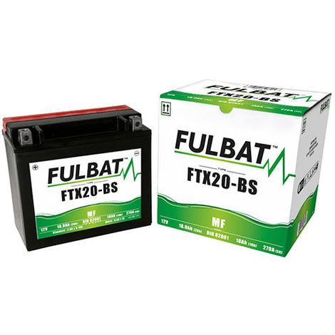 Fulbat - Batería moto FTX20-BS / YTX20-BS 12V 18Ah