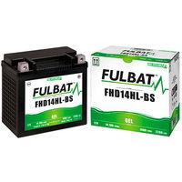 Fulbat - Batería moto Gel FHD14HL-BS / ETX14L 12V 14Ah