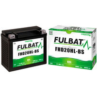 Fulbat - Batería moto Gel FHD20HL-BS / ETX20L 12V 20Ah
