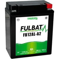 Fulbat - Batería moto Gel YB12AL-A / YB12AL-A2 / FB12AL-A2 12V 12Ah