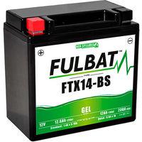 Fulbat - Batería moto Gel YTX14-BS / FTX14-BS 12V 12Ah