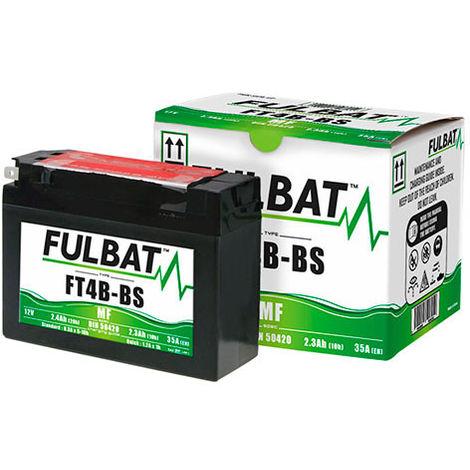 Fulbat - Batería moto YT4B-BS / FT4B-BS 12V 2.3Ah