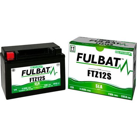 Fulbat - Batería moto YTZ12S / FTZ12S 12V 11Ah