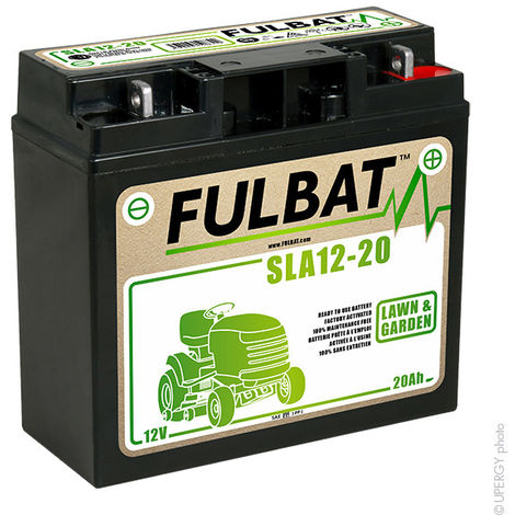 Fulbat - Batería motocultor /moto NH1220 / SLA12-20 12V 20Ah
