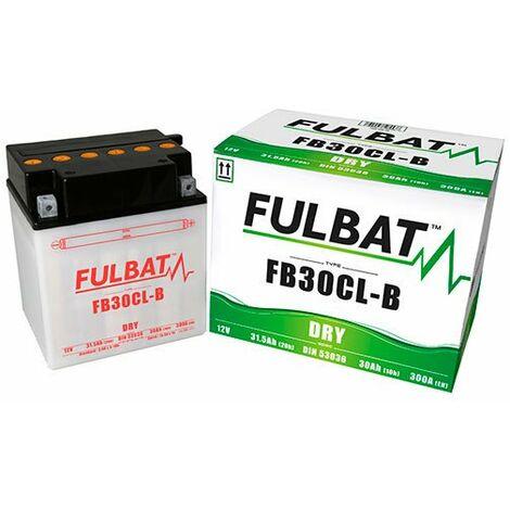 Fulbat - Fulbat - Batterie moto YB30CL-B / FB30CL-B 12V 30Ah