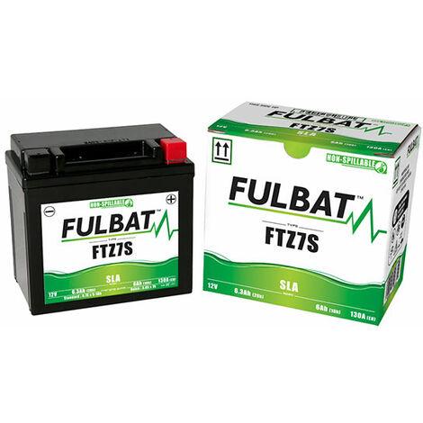 Fulbat - Fulbat - Batterie moto YTZ7S / FTZ7S 12V 6Ah