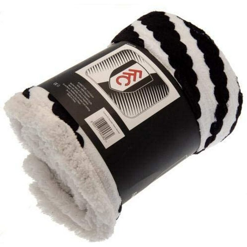 Image of Asunder Beach Towel (One Size) (Black/White) - Fulham Fc