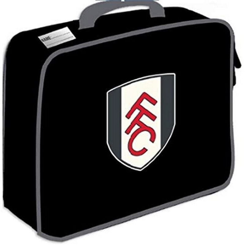 Image of Crest Lunch Bag (One Size) (Black) - Fulham Fc