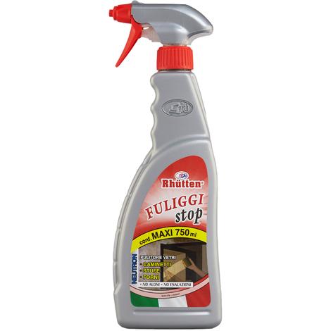 Fuliggi Stop Rhutten Detergente Per Pulizia Vetro Camini Stufe E