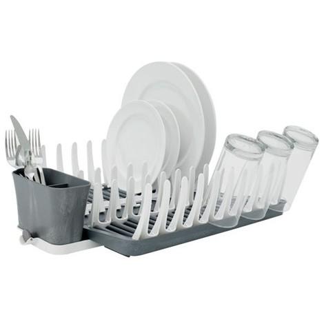 FULL CIRCLE - Egouttoir à vaisselle pliable - plastique