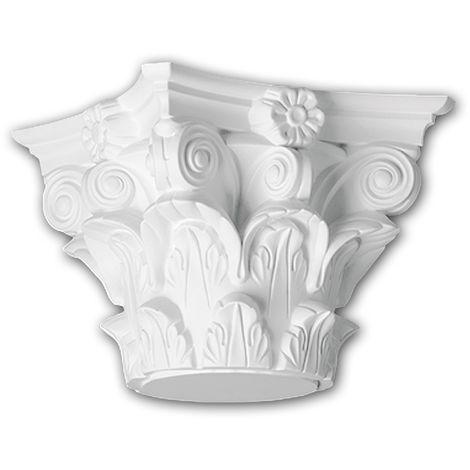Full Column Capital 111010 Profhome Column Decorative Element Corinthian style white