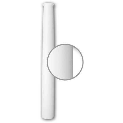 Full Column Shaft 112020 Profhome Column Decorative Element Neo-Classicism style white