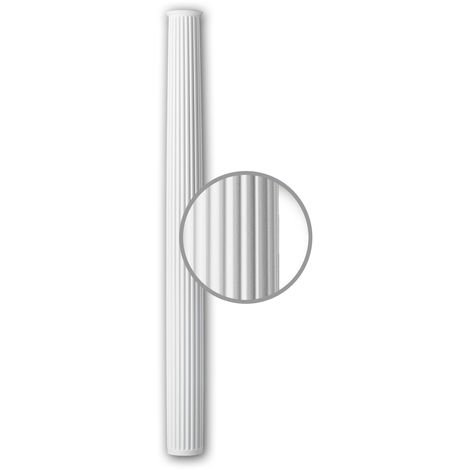 Full Column Shaft 112070 Profhome Column Decorative Element Neo-Classicism style white