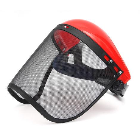 Full Face Shield Helmet Eye Protective Mask Visor + Transparent Screen Protector