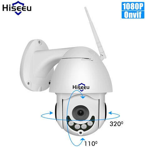 Full Hd 1080P De Securite Cameras De Surveillance Camera Exterieure Etanche Dome Sans Fil Ptz Zoom 5X Avec Vision Nocturne
