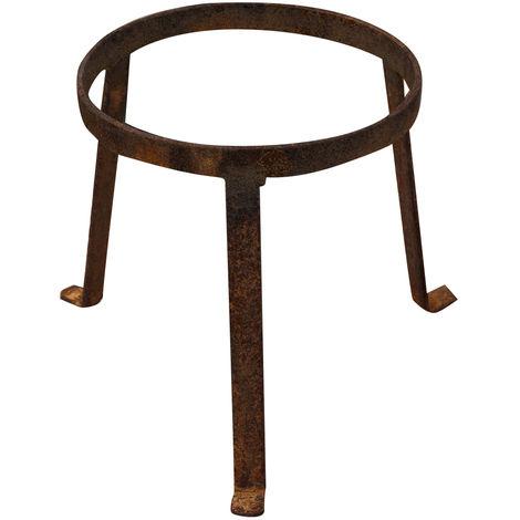 Full iron made pot holder base 21x21 cm diameter