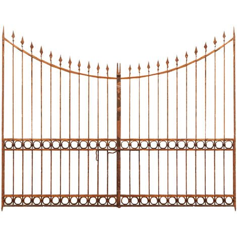 Full iron made W345xDP4xH270 cm sized gate