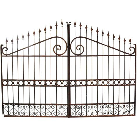Full iron made W348xDP4xH250 cm sized gate