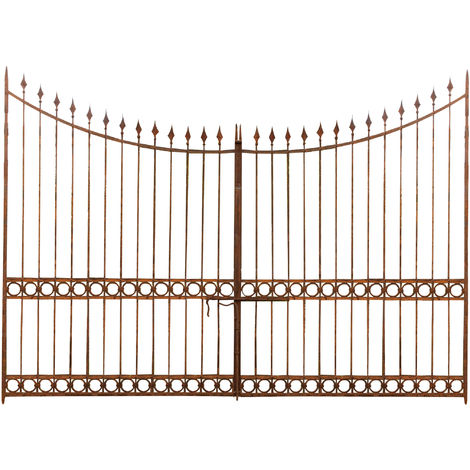 Full iron made W400xDP4xH289 cm sized gate