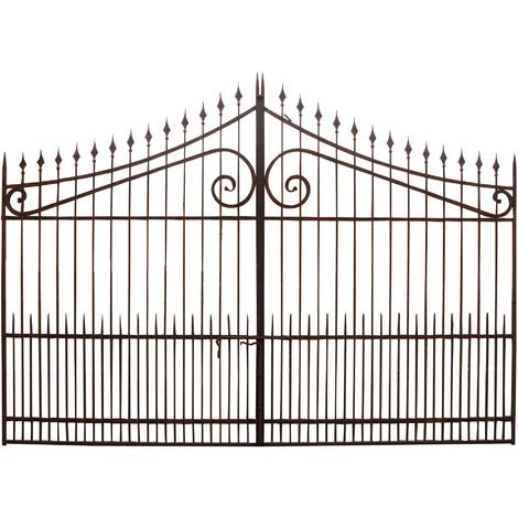 Full iron made W402xDP4xH288 cm sized gate
