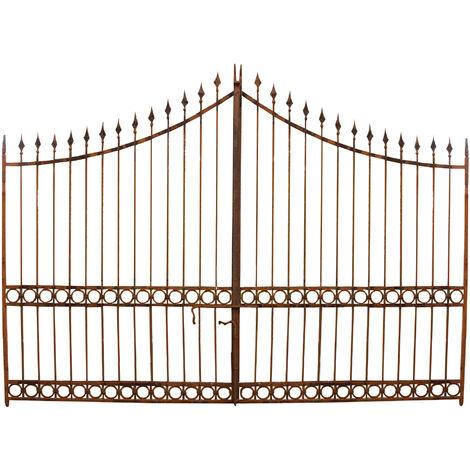 Full iron made W404xDP4xH288 cm sized gate