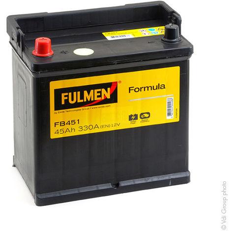 Fulmen - Batería para coche FULMEN Formula FB451 12V 45Ah 330A